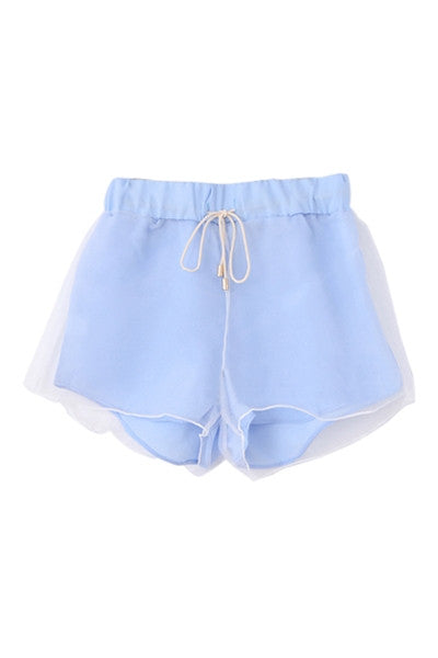 Sky and Clouds Shorts