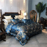 Belle Notte Damask Sheet Set