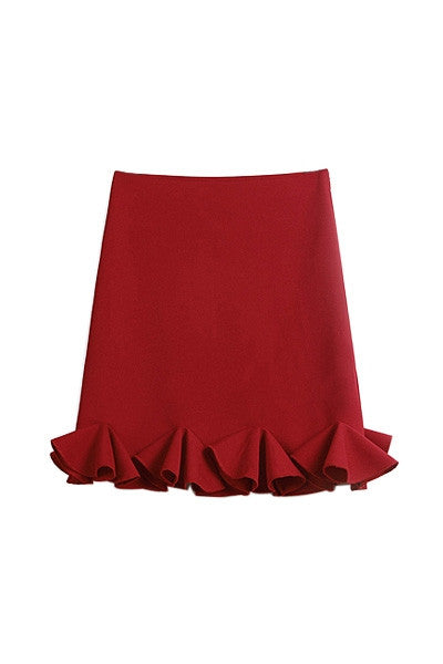 Boutique Frill Skirt