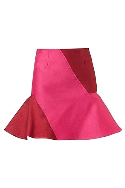 Hot Pink Statement Skirt