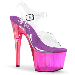 purple pole dancing heels