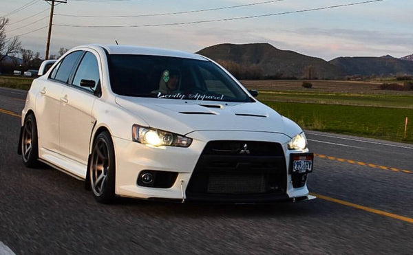 Mitsubishi Evo X Side Skirts