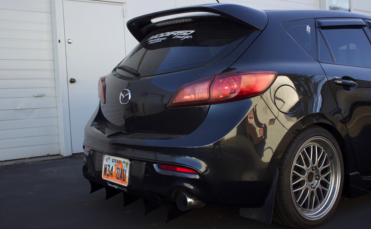 Mazda Speed 3 >> Gen 2 Mazdaspeed 3 V1 Rear Diffuser Strafe Design