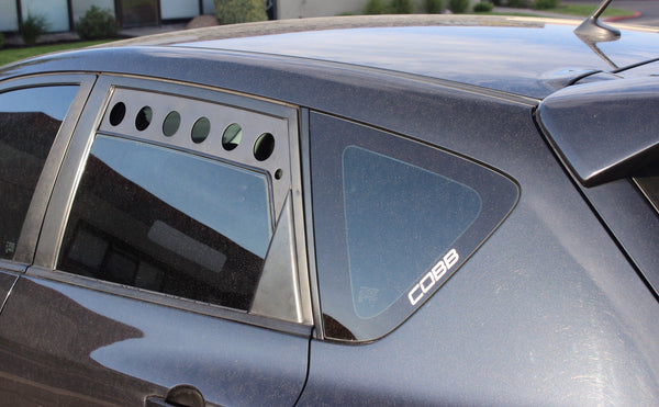 Gen 1 Mazdaspeed 3 Rear Window Vents