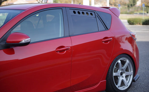Gen 2 Mazdaspeed 3 Rear Window Vents