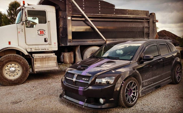 Caliber SRT-4 Front Splitter