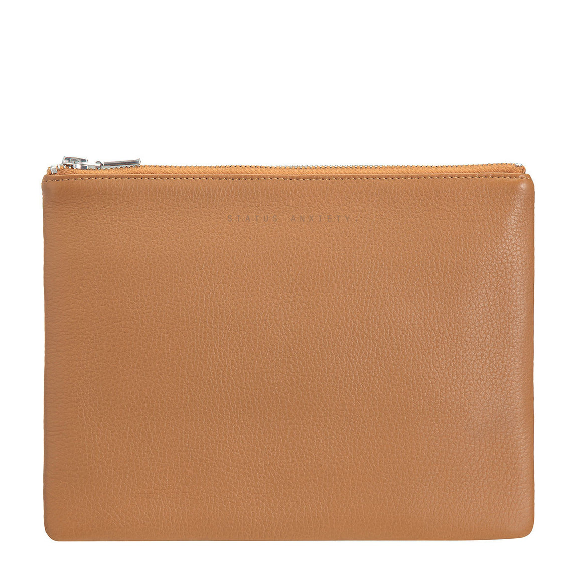 Status Anxiety AntiHeroine Clutch Tan