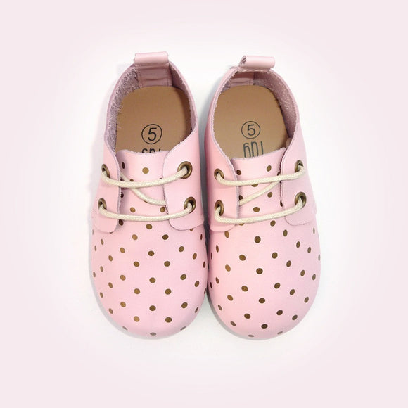 Wally Oxford Pink Dot