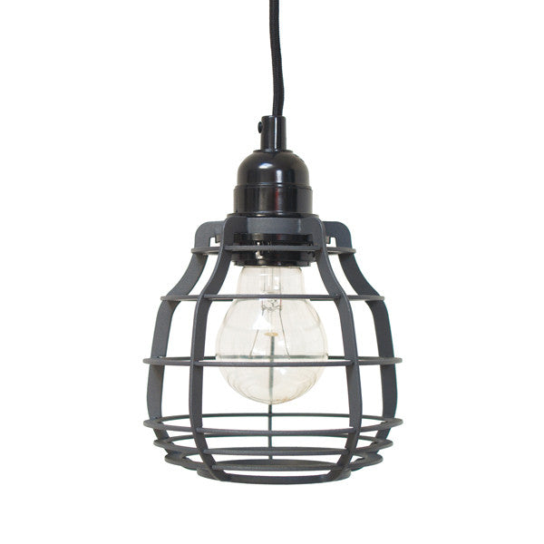 Lab Lamp - Matt Grey (Pendant)