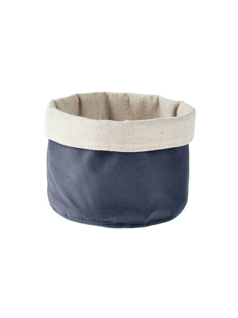 Linen House Frida Storage Basket Navy