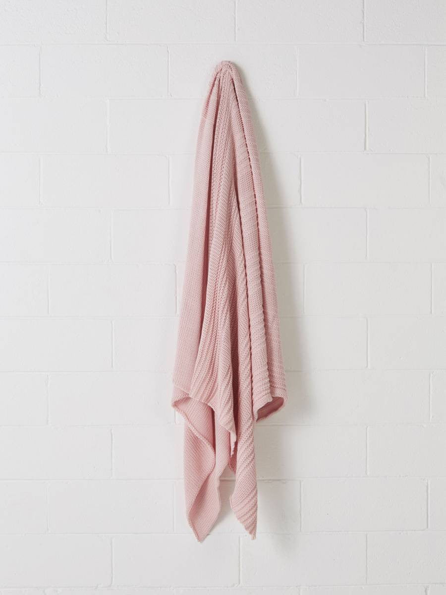 Linen House Throw Rollo Petal