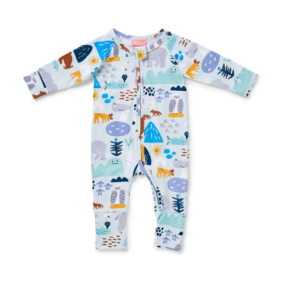 Arctic Park Zip Sleep Suit