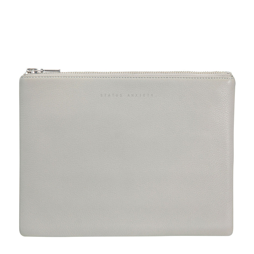 Status Anxiety AntiHeroine Clutch Lt Grey