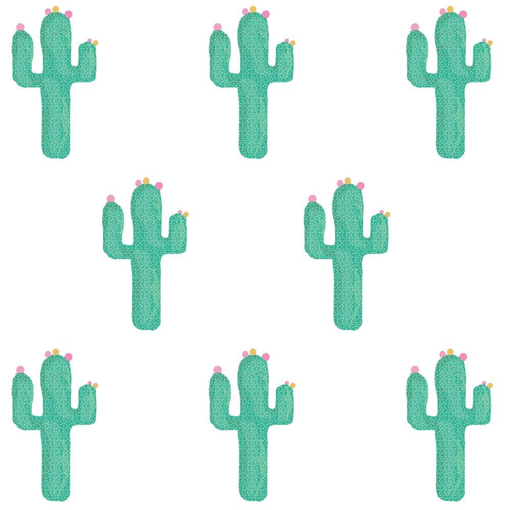 Cactus Fabric Sticker Sheet