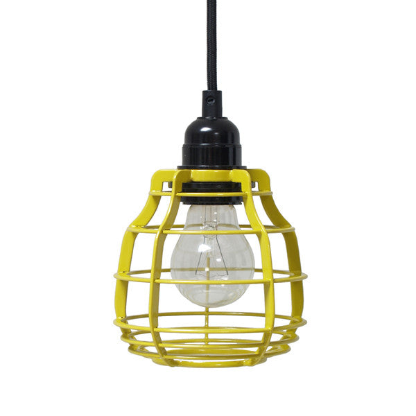 Lab Lamp - Chartreuse Yellow (With Switch)