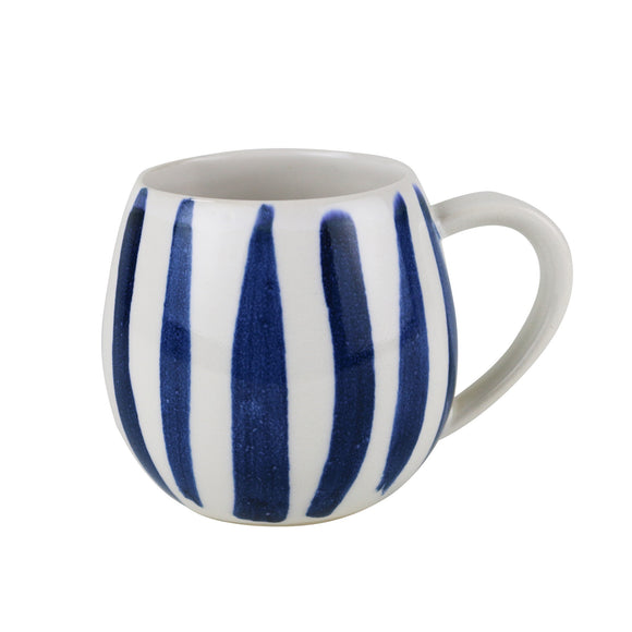 canvas mug stripe