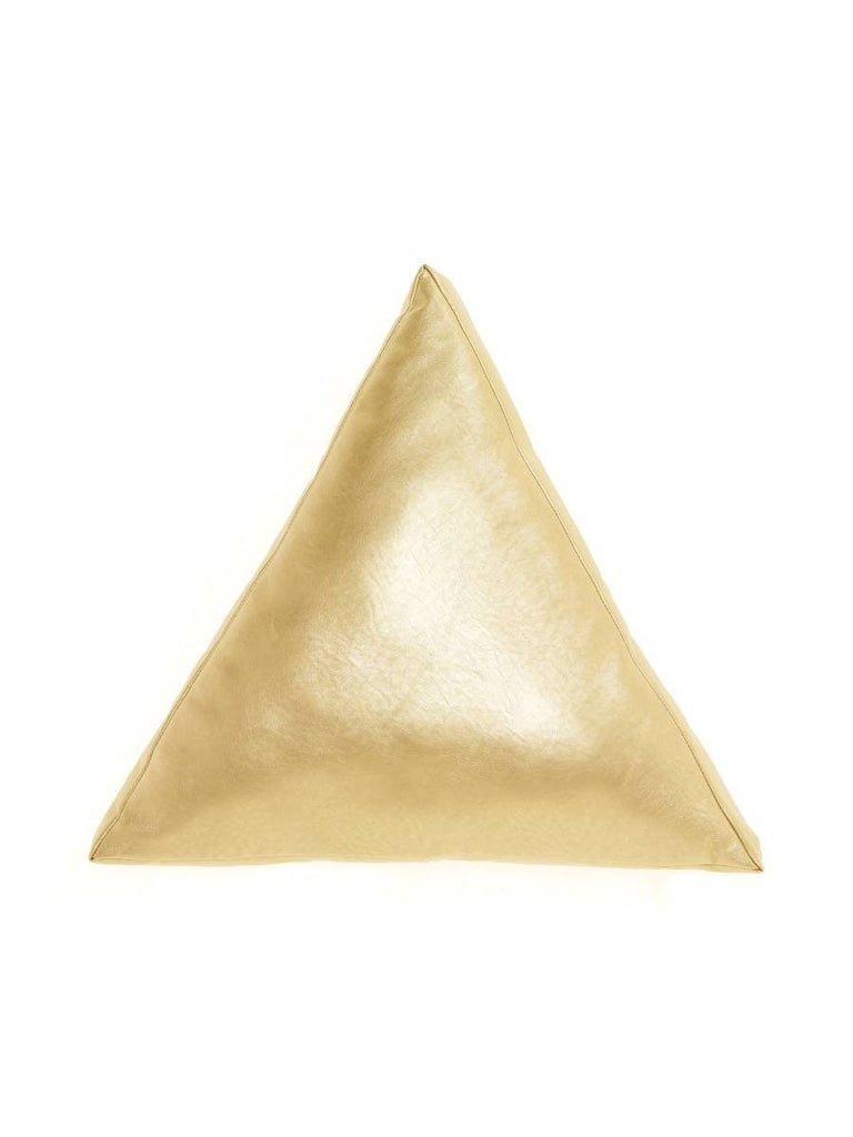Hiccups Cleo Gold Triangle Cushion