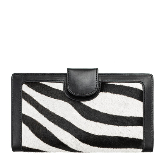 Doris Wallet - Zebra