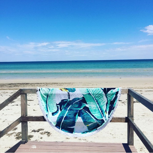 The Lush Palms Towel