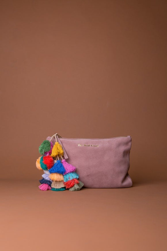 The Bedouin Clutch - Blush