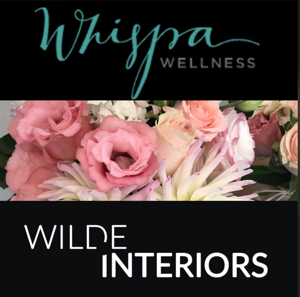 Deluxe Love Pack - Whispa Wellness, Wilde Interiors, Something Small.Eriko