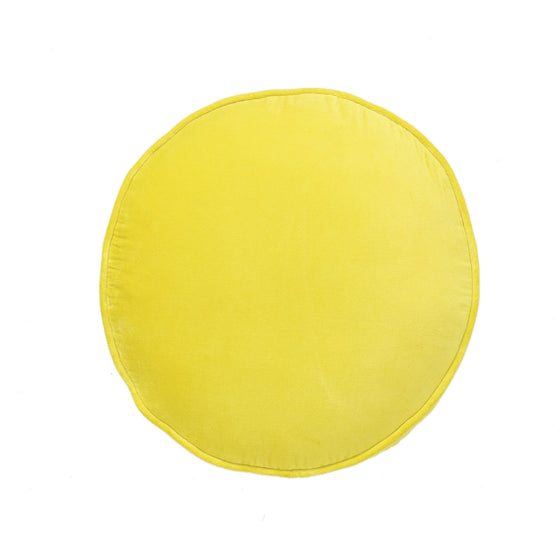 Chartruese Velvet Filled Pea Cushion