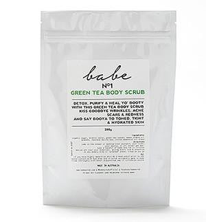 Green Tea Body Scrub