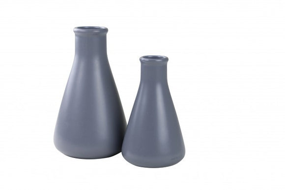 Large & Small Flask - Grey Labware