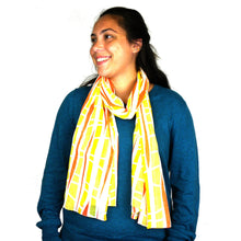 Load image into Gallery viewer, Cotton Scarf - Sunrise | Fair Trade & Handmade