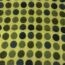 Load image into Gallery viewer, Cotton Scarf - Green Dots | Fair Trade & Handmade