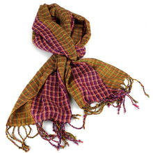 Load image into Gallery viewer, San Antonio Scarf - Gold | Fair Trade & Handmade