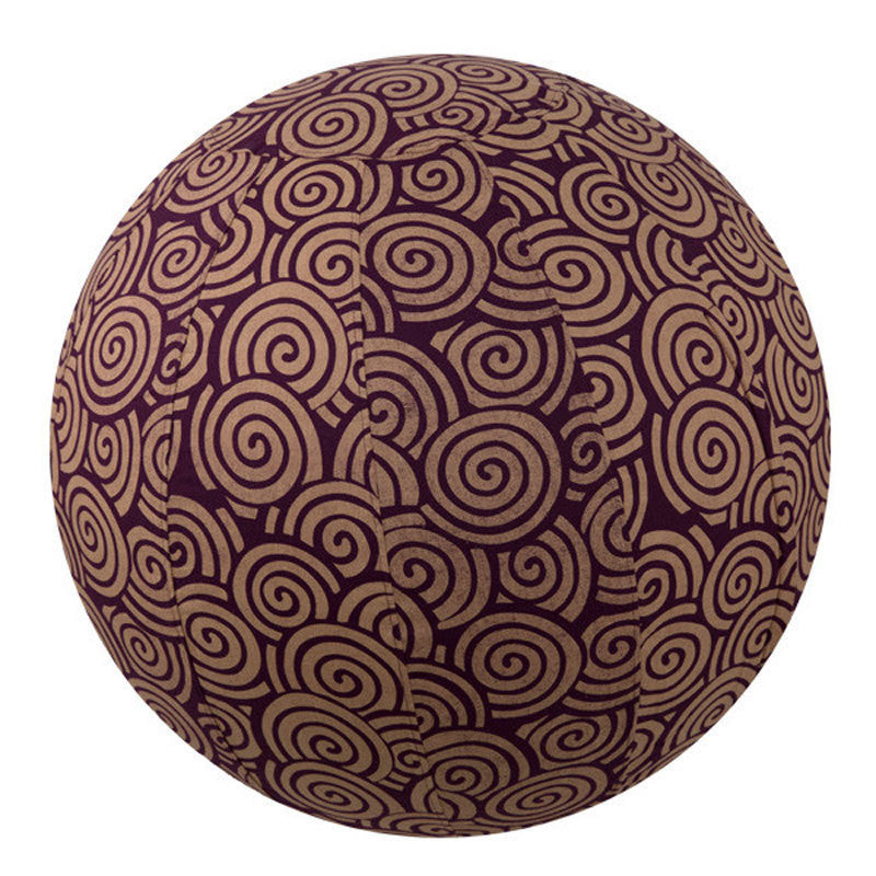 Yoga Ball Cover - Plum Spiral - 65cm | Fair Trade & Handmade