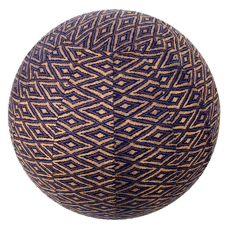 Yoga Ball Cover - Navy Ikat - 55cm | Fair Trade & Handmade