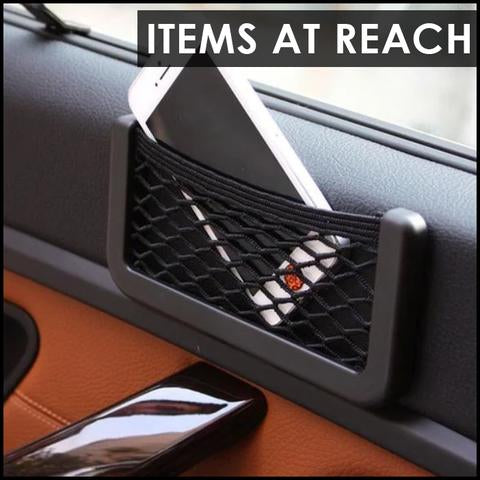 Premium Car Mesh Storage Bag
