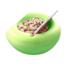 Double Layers Lazy Snack Bowl