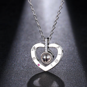 100 Love Messages Necklace