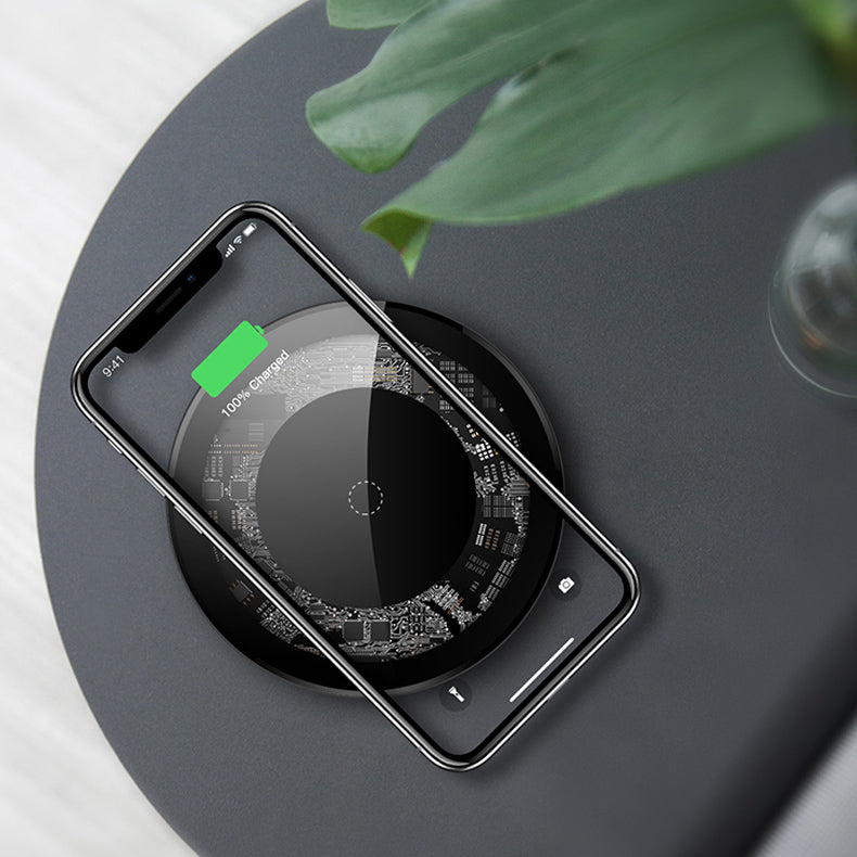 Premium Wireless Fast Charging Pad