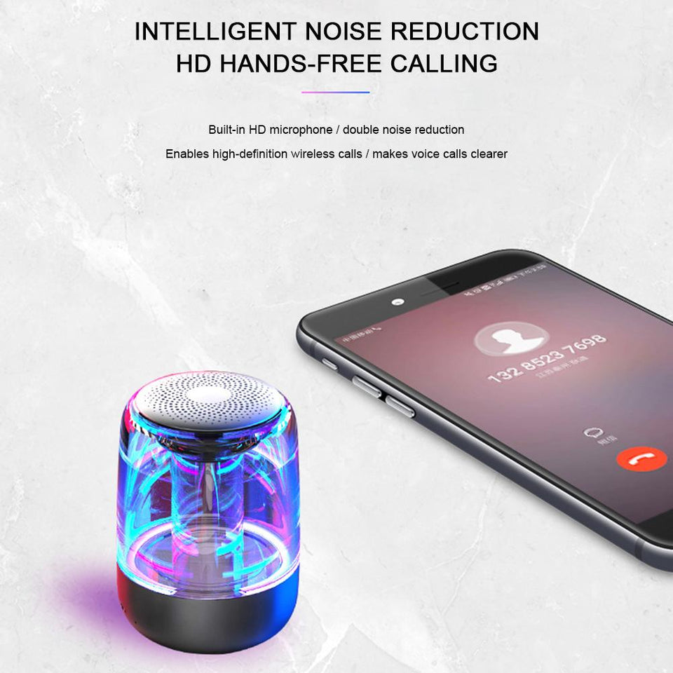 Premium LED MINI Portable Bluetooth 5.0 Speaker