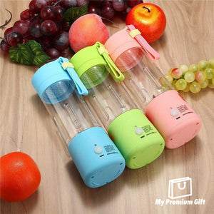 Premium Portable USB Electric Juicer Bottle Blender