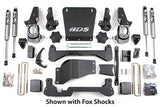 "BDS Lift Kit 01-10 GM HD 7"" Front - 5"" Rear w/Fox Shocks"
