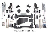 "BDS Lift Kit 01-10 GM HD 4.5"" Front - 3"" Rear w/Fox Shocks"