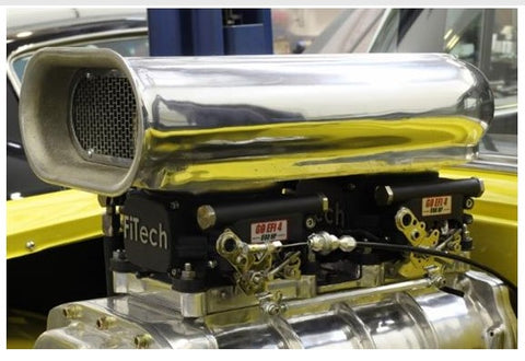 FiTech Fuel Injection System - Go EFI 2X4; 1200 HP Rating; Power Adder - 30064