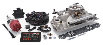 Edelbrock Pro-Flo 4 Fuel Injection System 35830  BBC Large Oval Port