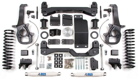 "BDS Lift Kit 13-16 Dodge Ram 1500 6"" Front 3"" Rear - w/o Factory Air Suspension"