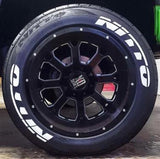 Nitto Tire Stickers