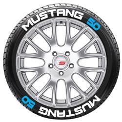 Mustang Tire Stickers