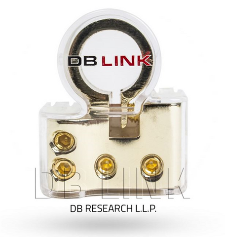 DB Link Top Post Battery Terminal (Positive - Gold Plated) BPT02X