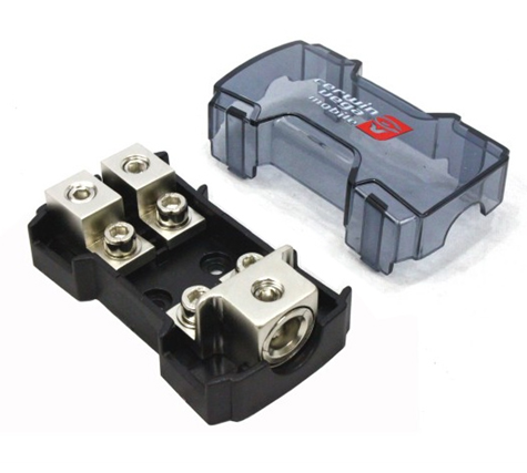 Cerwin Vega Mini ANL Fuse Distribution Block (1/0/4 Ga. In - (2) 4/8 Ga. Out) - CMANL250