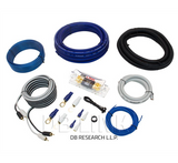 DB Link Competition Series Amplifier Installation Kit (4 Ga. - ANL - 2000W) COMP4-ANL