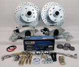 55-58 Chevrolet Full Size MP Brakes DB1711BHP - Legend Series Front Disc Brake Conversion Kit (Front Wheels Only) - Performance Upgrade